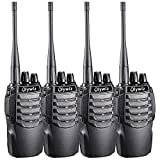Walkie Talkies 1800mAh Li-ion Battery IP54 Protection Olywiz Sport Car Shape Designed Long Range Two way Radios 4 PACK