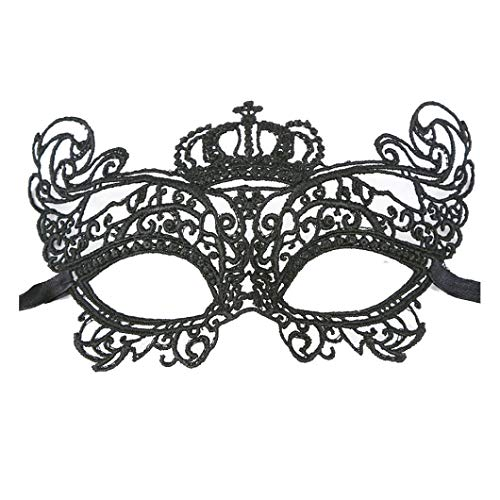 Women Men Sexy Elegant Eye Face Mask Masquerade Ball Carnival Fancy Party Mask]()