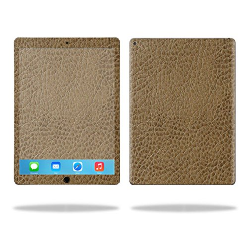 "Price comparison product image MightySkins Protective Vinyl Skin Decal for Apple iPad Pro 12.9"" case wrap cover sticker skins Sandlwood Leather"