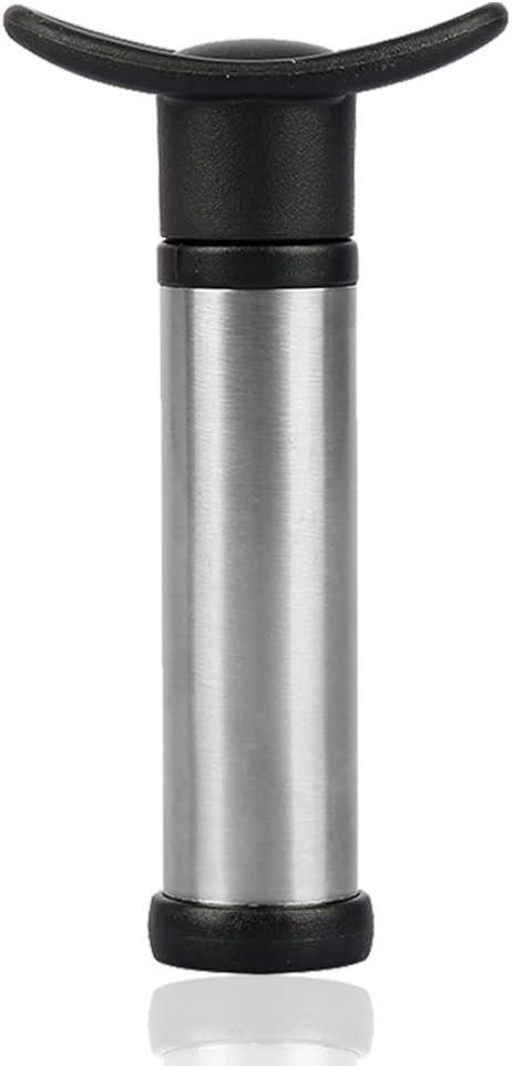SENHAI - Bomba de vino con 15 tapones para botella de vino, dispensador de vacío y tapón de goma para vino con marcadores de fecha para quitar el aire y el sellado al vacío
