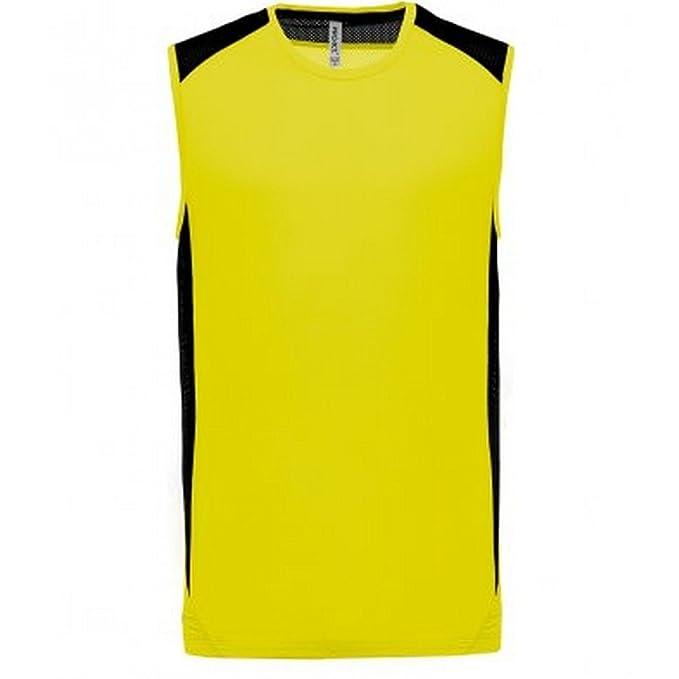 fc1daf55f3 Proact Camiseta Deportiva Sin Mangas Para Hombre  Amazon.es  Ropa y  accesorios