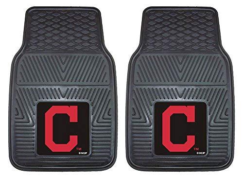 - Heavy Duty Vinyl Car Mats - Set of 2 - Cleveland Indians