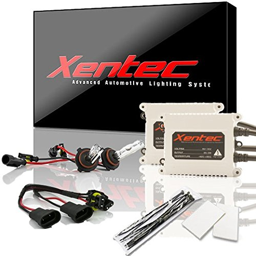 XENTEC 9006 6000K 35W Slim Alloy Ballast HID Xenon Kit (HB4, Ultrawhite)