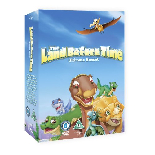 THE LAND BEFORE TIME - THE COMPLETE VOLUMES 1 TO 11 [NON-USA Format / Import / Region 2 / PAL]