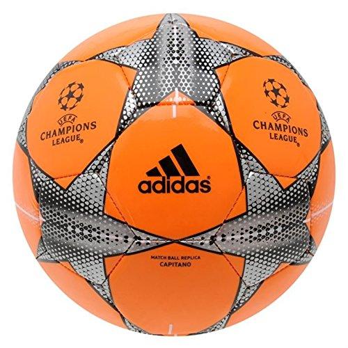 2 opinioni per Adidas UEFA Champions League Glider calcio misura 4Arancione Brillante