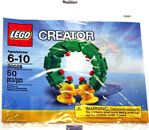 LEGO Creator Mini Figura Set # 30028 Christmas Wreath Bagged