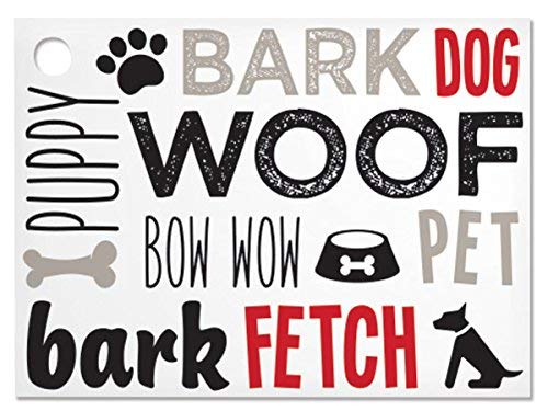Dog Lovers Theme Gift Cards (6 Pack ) 3-3/4x2-3/4''