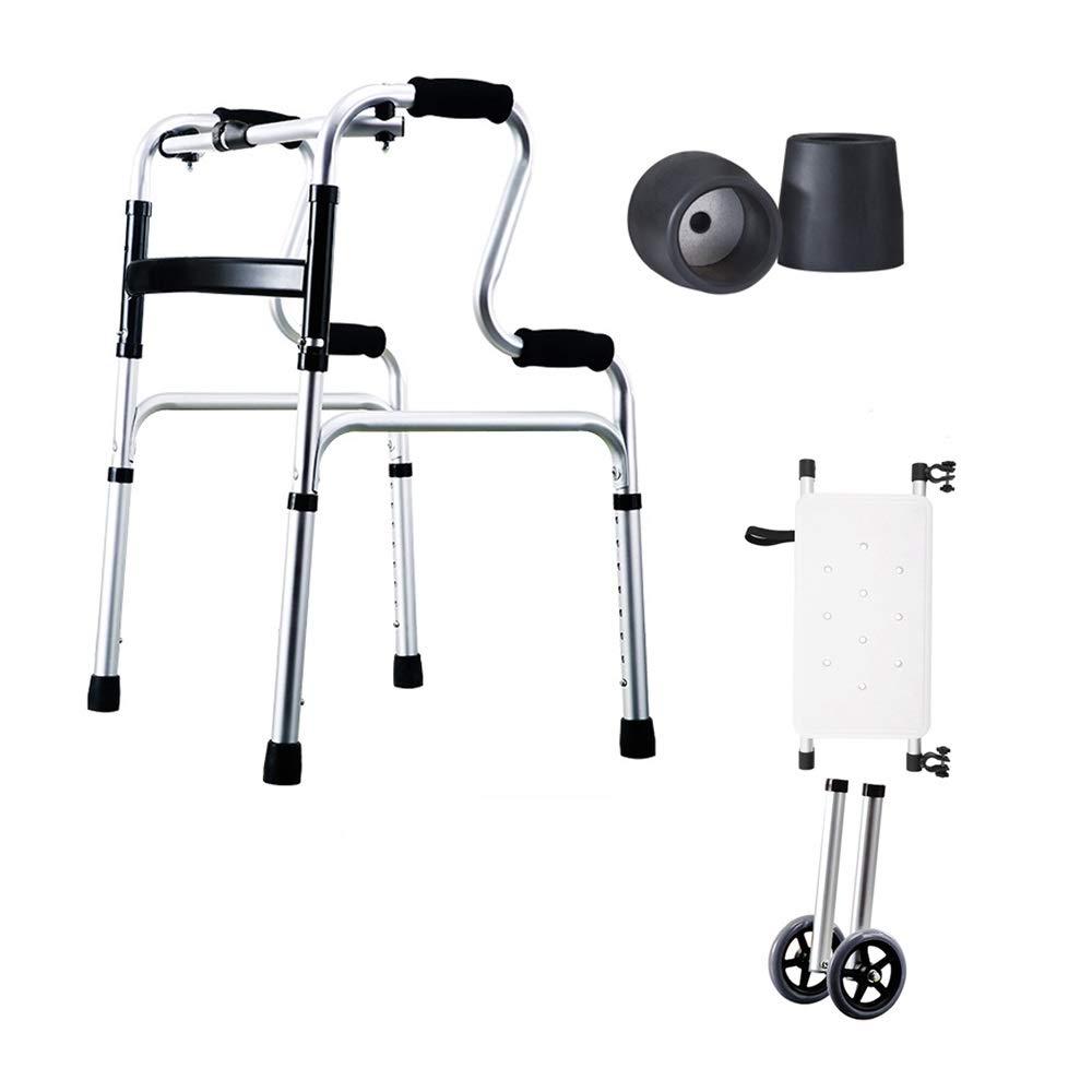 Andador Andador Pequeño, Andador Plegable Ligero De Aluminio ...