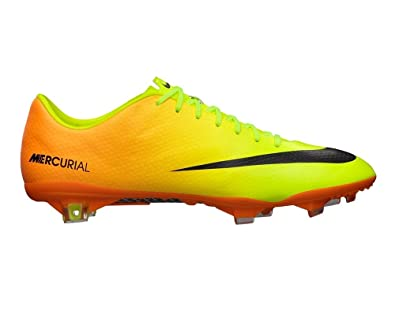 Nike Mercurial Vapor Ix Fg Mens Football Soccer Boots Cleats Volt Black  Bright Citrus Firm Ground (uk 11 us 12 eu 46): Buy Online at Low Prices in  India ...
