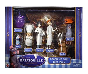 Ratatouille Character Cast Gift Pack