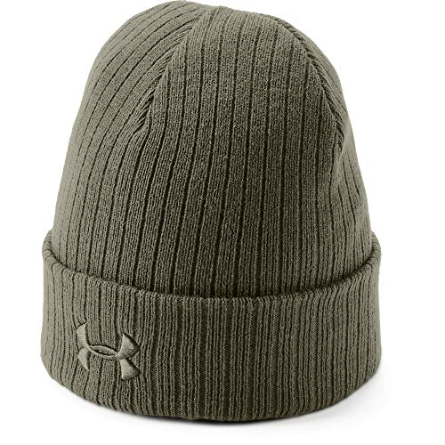 Under Armour Men's Tac Stealth Beanie 2.0, Marine Od Green (390)/Marine Od Green, One Size Fits All