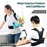 VOKKA Posture Corrector for Men and Women, Spine