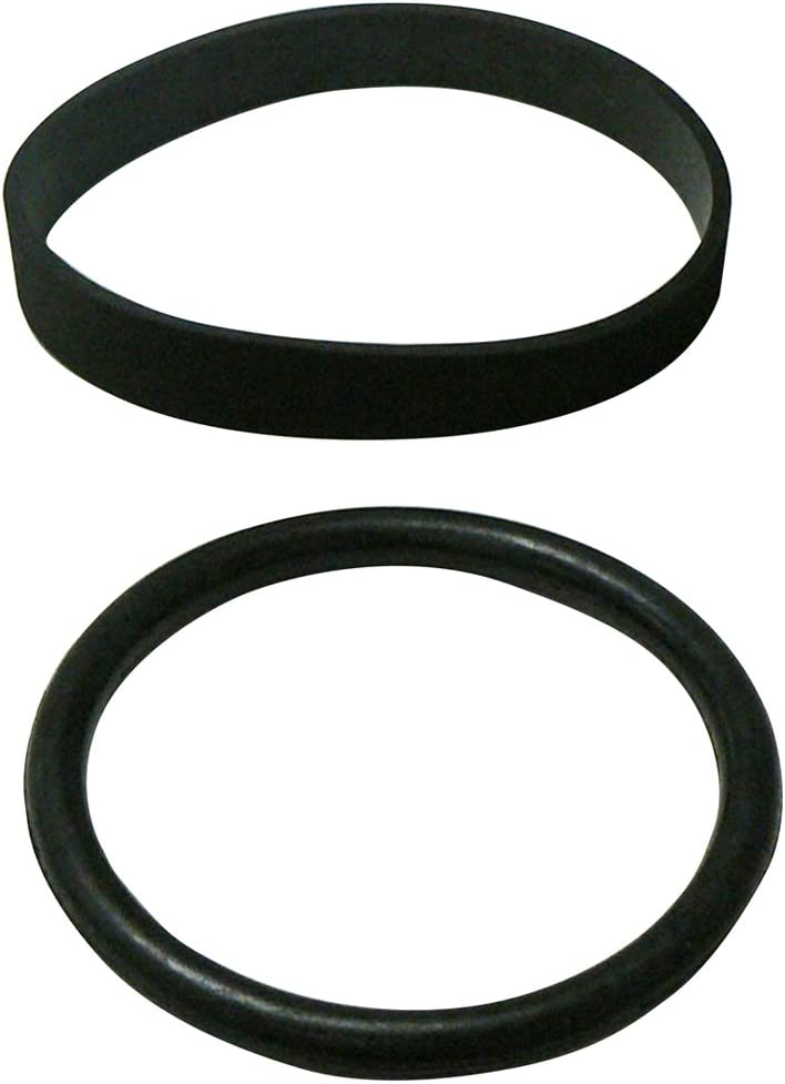 Panasonic MC-V241B Type UB-2 Round and UB-7 Flat Upright Vacuum Belt Set, 1 Each