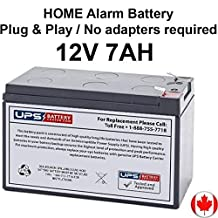 Solex SB1270 12V 7Ah F1 Terminal Alarm Battery Replacement