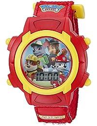 Kids' PAW5003 Digital Display Quartz Red Watch