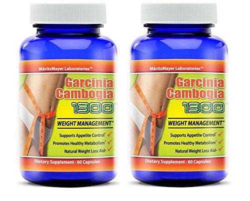 Garcinia Cambogia 1300TM, 60 Capsules per bottle (2)