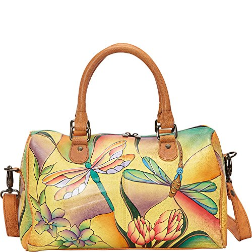 anuschka-anna-by-handpainted-leather-large-zip-around-satchel-dragonfly-glass-painting