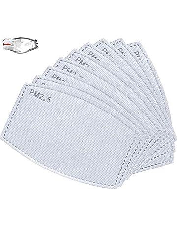 35 filtros para mascarillas de tela 1 funda tela marr/ón Filtros carbon activo TAMACE- 35 Filtros carbon activo pm 2.5 para mascarillas filtros reutilizables. funda para mascarillas