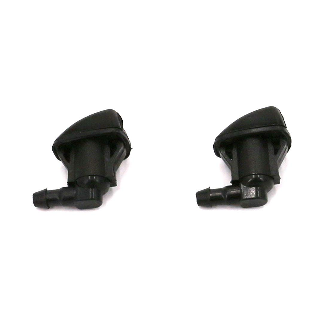 Solara Corolla 2Pack UTSAUTO Front Windshield Washer Nozzles Jet Kit for Toyota Sienna Tundra: Replace OEM# 85381-AE020,85381-AA050