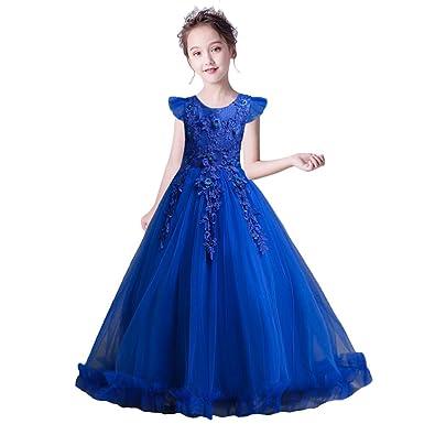grande variété de styles prix de gros meilleur fournisseur HUAANIUE Vintage Robe de Fille Demoiselle d'Honneur Taille ...