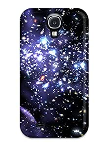 Hot NSBapOf17653bfKDw Case Cover Protector For Galaxy S4- Lights Abstract