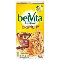 Belvita Breakfast Crunchy Choc Chips Biscuits, 6 x 50g