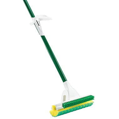 Libman 2010 Nitty Gritty Roller Mop with Green Cleaning Pads