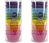 Wilton 415-2179 Rainbow Bright Standard Baking Cups 2 x 300 Count
