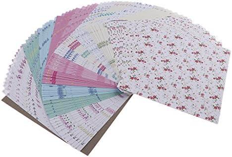 72枚セット かわいい 折り紙 おりがみ クラフトペーパー スクラップブッキング 手芸 DIY 手作り 全3スタイル - 多色