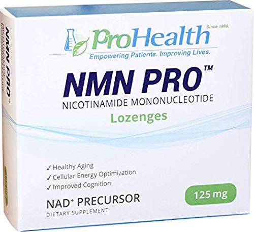 ProHealth NMN Pro (125 mg, 30 lozenges) Nicotinamide Mononucleotide   NAD+ Precursor   Dairy Free   Gluten Free   Non-GMO   Vegan