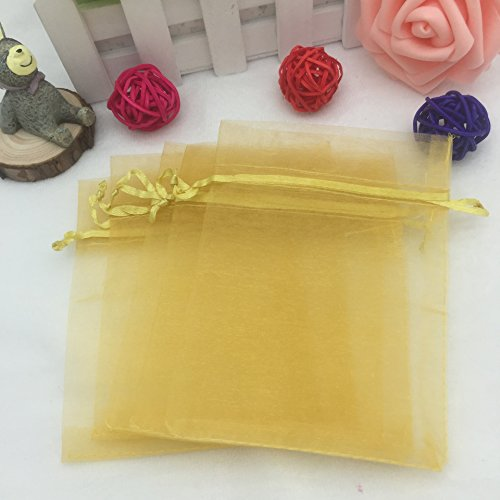 Gorgeous Organza Gift Bags (Amaonm Pack of 100 4