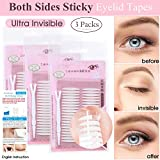 240 Pairs Invisible Double Side Sticky Eyelid Tapes Stickers, Made of medical-use adhesive