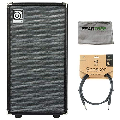 Ampeg SVT-210AV 2x10 Bass Amp Speaker Cabinet w/Geartree Cloth and Speaker Cabl