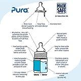 Pura Kiki 5 oz / 150ml Stainless Steel Anti-Colic