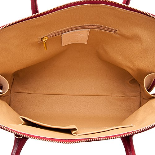 Kuhleder aktentasche - brieftasche. Mehreren fächern. Maßnahmen: 26x37x12 Cms. 100% Natürlich. Qualität garantiert.