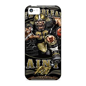 Brand New 5c Defender Cases For Iphone (new Orleans Saints) Black Friday