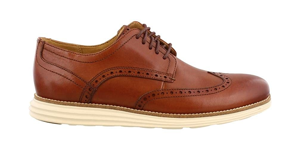 Wood Ivory Cole Haan Men's Original Grand Shortwing Oxfords