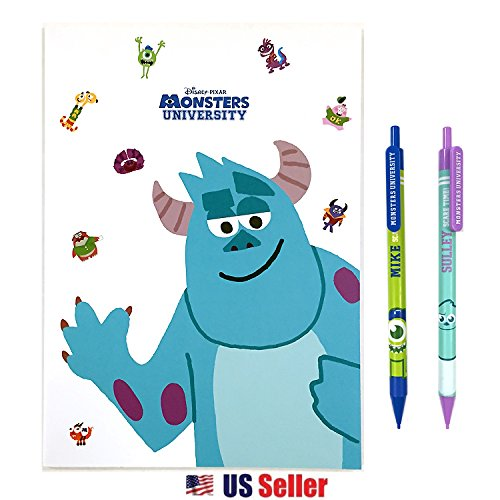 Disney Monsters Inc University School Supply Stationary Gift Set : Mike & Sulley (SULLEY)]()