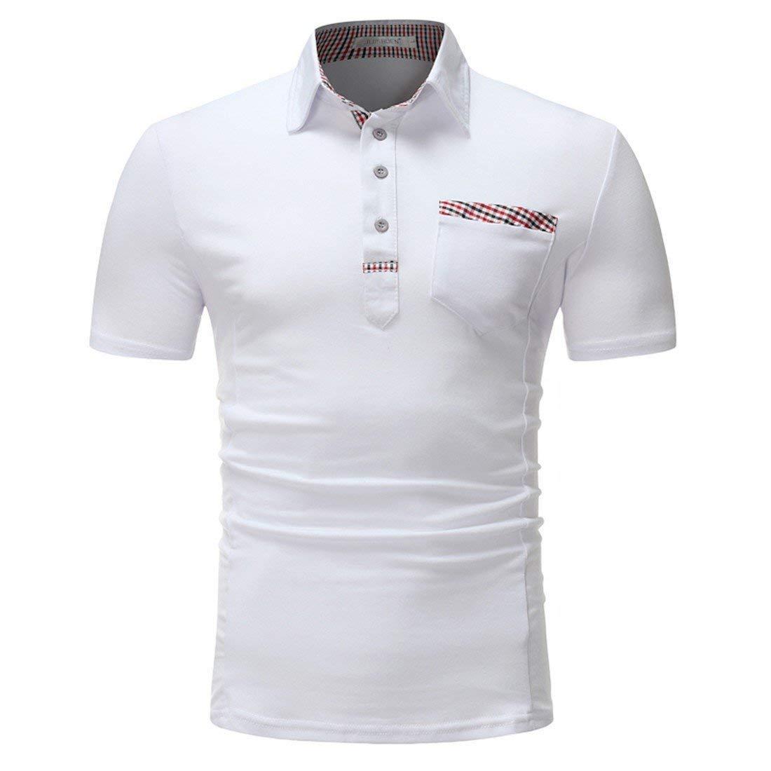 Camiseta De Hombre/De Polo De Polo/Solapa Moda De Joven Verano ...