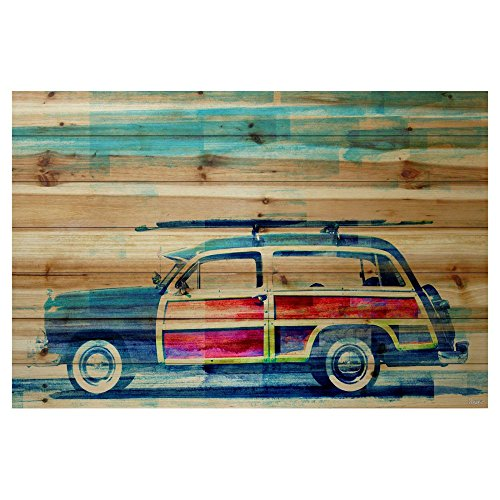 surf-day-by-parvez-taj-painting-print-on-natural-pine-wood-
