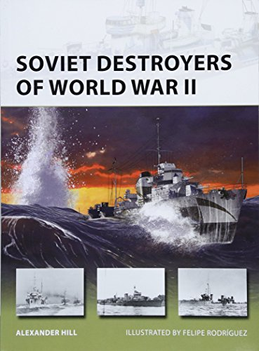 Soviet Destroyers of World War II (New Vanguard)