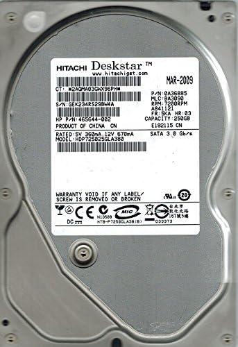 Hitachi HDP725025GLA380 P//N 0A36885 MLC BA3090 250GB