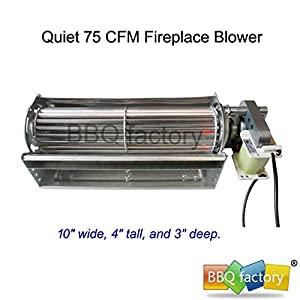 Amazon.com: bbq factory® Replacement Fireplace Fan Blower for Heat ...
