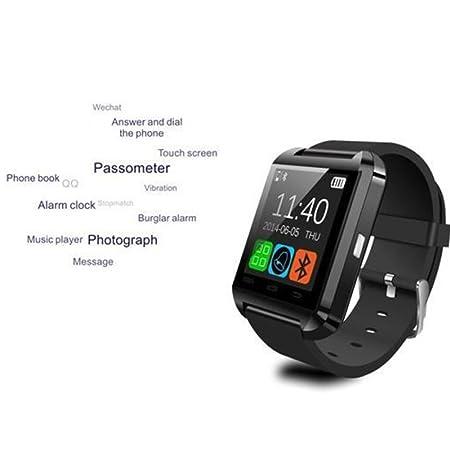 Asia Long U8 SmartWatch Bluetooth Fitness Smart Reloj Watch ...