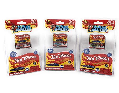 Worlds Smallest Hot Wheels Series 3 Bundle Set of 3 Cars - 2016 Blitz Speeder - 2016 Night Shifter - 2014 Rip Rod