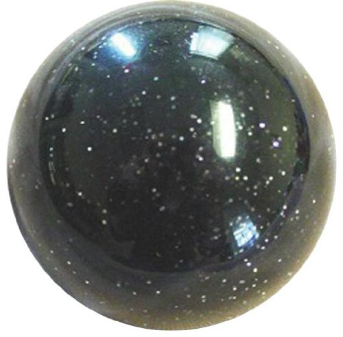 American Shifter 226 Old Skool Black Sparkle Shift Knob with Metal Flakes