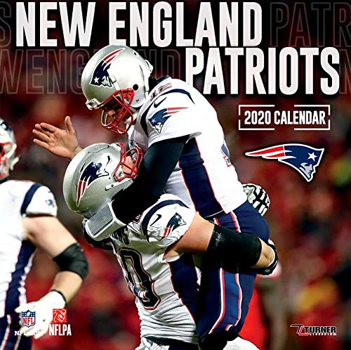 New England Patriots Schedule 2020.New England Patriots 2020 12x12 Team Wall Calendar Lang
