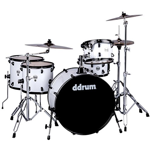 ddrum J2R 524 WHT Journeyman Piece Drum Set, ()