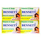 Bennett Vitamin C&E Soap Size 130g. Pack 4