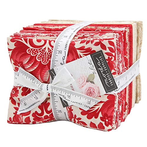 Cinnaberry 27 Fat Quarter Bundle by 3 Sisters for Moda Fabrics ()